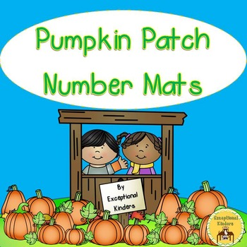 Pumpkin Patch Counting Mats