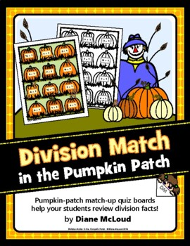Math in the Pumpkin Patch, Division Match