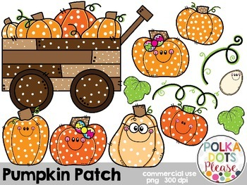 Pumpkin Patch {Graphics for Commercial Use}