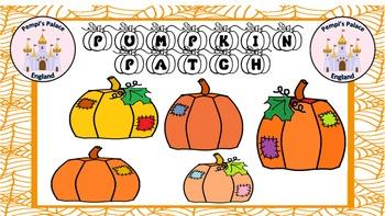 Pumpkin Patch Halloween Clip Art Freebie