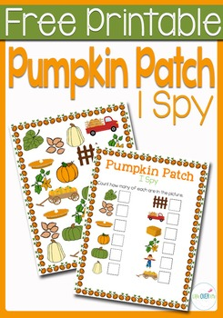 I Spy Counting: Pumpkin Patch