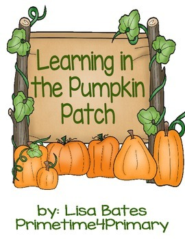 Pumpkin Patch Literacy and Math Learning Centers