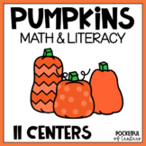 Pumpkin Math and Literacy Work Stations