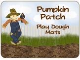 Pumpkin Patch Play Dough Mats