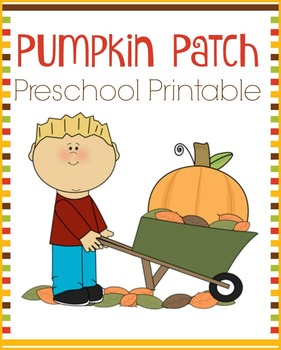 Pumpkin Patch Preschool Learning Pack