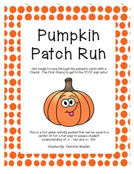 Pumpkin Patch Run