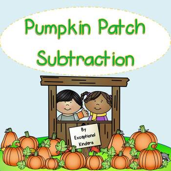 Pumpkin Patch Subtraction Mats