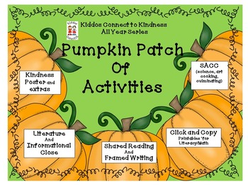 Pumpkin Patch of Activities - Kiddos Connect All-Year to K