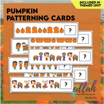 Pumpkin Patterning Cards