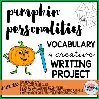 Pumpkin Personalities Halloween Writing Activity Project