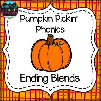 Pumpkin Pickin' Phonics: Ending Blends Pack