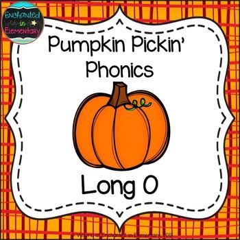 Pumpkin Pickin' Phonics: Long O Pack
