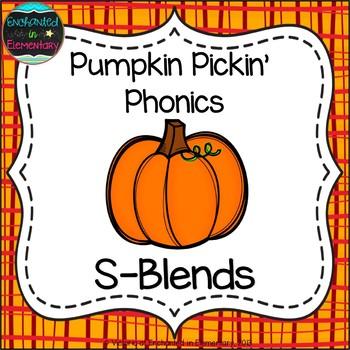 Pumpkin Pickin' Phonics: S-Blends Pack