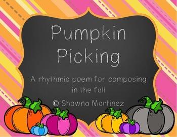 """""""Pumpkin Picking"""" an adventure into composing rhythms (fir"""