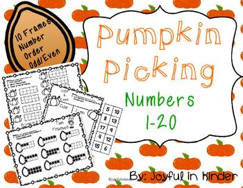 Pumpkin Picking #'s 1-20