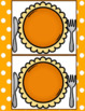 Pumpkin Pie Differentiated Counting Math Game