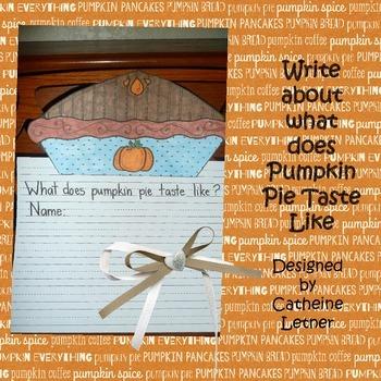 Pumpkin Pie Write