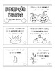 Pumpkin Plants Life Cycle Book & Sequence Activity (colori