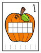 Pumpkin Playdough Mats/Dry Erase Mats/ Worksheets