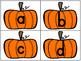 Pumpkin Pocket Chart Freebie