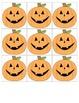 Halloween Pumpkin Popsicle Stick Puppets