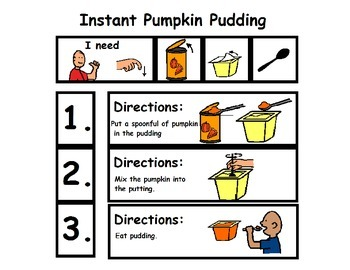 Pumpkin Pudding Visual Recipe