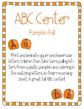 Pumpkin Pull ABC Center