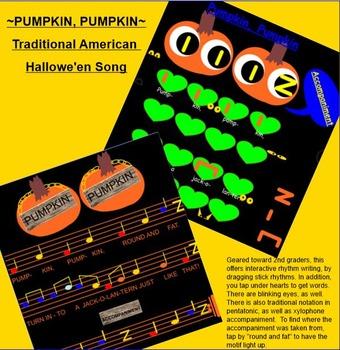 Pumpkin, Pumpkin ~ A Traditional Hallowe'en Song~ ta, titi