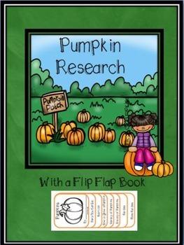Pumpkin Research with a Fun Flip-Flap Book