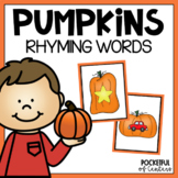Pumpkin Rhyming Game