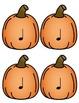 Pumpkin Rhythm Cards