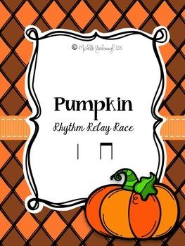 Pumpkin Rhythm Relay Race: ta ti-ti
