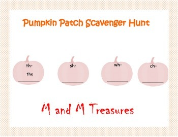 Pumpkin Scavenger Hunt