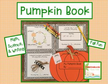 Pumpkin Science, Math, and Writing Mini Unit - Halloween a
