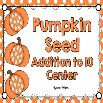 Pumpkin Seed Addition to 10