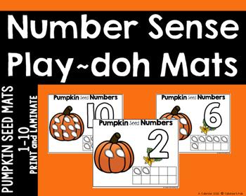 Pumpkin Seed (play-doh) Mats