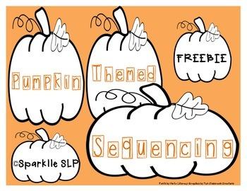 Pumpkin Sequencing {FREEBIE}