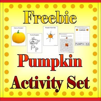 Pumpkin Set Freebie