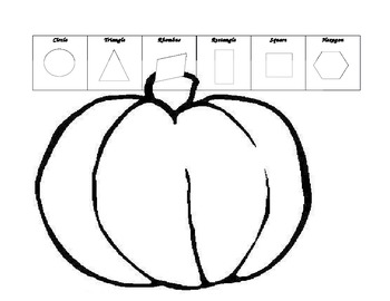 Pumpkin Shape Face
