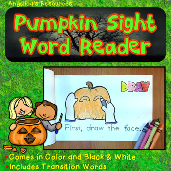 Pumpkin Sight Word Reader