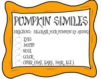Pumpkin Similes