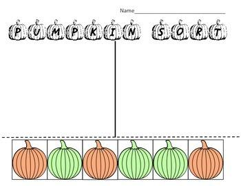 Pumpkin Sort - Colors