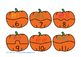 Pumpkin Tally Marks Counting Puzzles