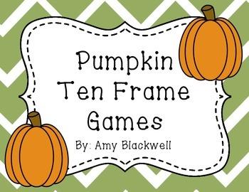 Pumpkin Ten Frame Games
