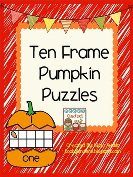 Pumpkin Ten Frame Puzzles