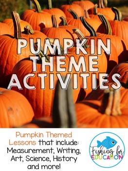 Pumpkin Theme Activties