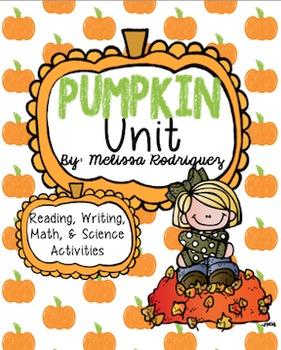 Pumpkin Unit Bundle (All Subjects)