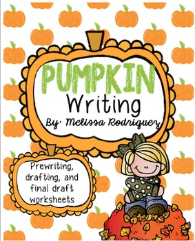 Pumpkin Unit Writing Prompt