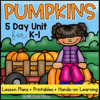 Pumpkin Unit for Kindergarten and First Grade