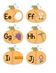 ABC Pumpkin- Letters and Sounds Matching Game for Word Wor